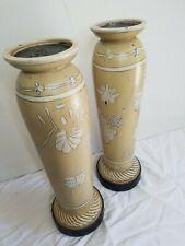 Pedestal Candle Holders (Set of 2)