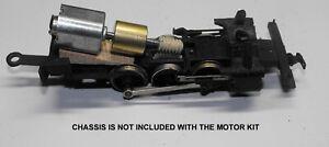 HO SCALE MANTUA TYCO 0-4-0 0-6-0 2-6-2 NEW CAN MOTOR FLYWHEEL UPGRADE KIT