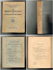 La Restauration et la Monarchie de Juillet - J. Lucas-Dubreton - 1926 - 320 p