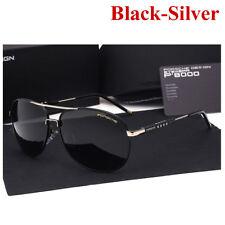Sonnenbrillen Sunglasses Polarized Porsche Luxury Designer Men Metal Frame 2017