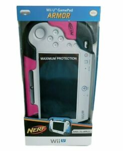 Wii U NERF Armor Gamepad For Wii U Protective Cover Pink