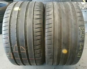 2X 325/30/21 108 Y *6mm!* **Michelin Pilot Sport 4**Extra Load (Ref 311)
