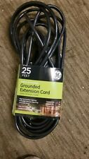 Ge 25-Feet Extension Cord 16/3 Heavy Duty Grounded Indoor/Outdoor Cord