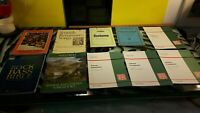 Folksong Arrangements -Spanish Songbooks -Rock Bass Bible -Italian - Moussorgsky