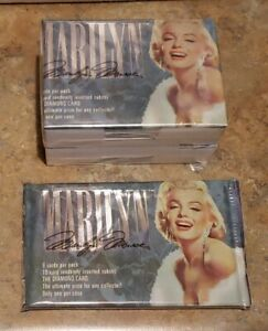 1993 Marilyn Monroe Sports Time Cards (1-100) Complete Set & 1 unopened pack