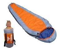 Compact Mummy Sleeping Bag-29F Backpacking Lightweight Camping Hiking - 3 Season
