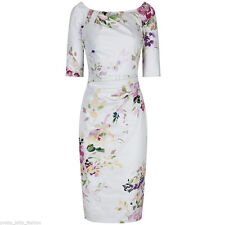 Unbranded Cotton Wiggle, Pencil Floral Dresses for Women
