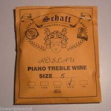 Piano Music Wire Roslau 1/4 lb coil Choose Size 1-4