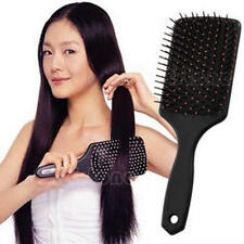 Healthy High Quality Paddle Cushion Hair Loss Massage Brush Hairbrush Comb Scalp