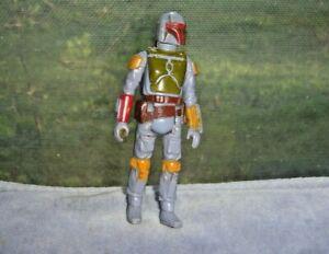 """USED vtg 1979 CPG Star Wars BOBA FETT 3.75"""" action figure Hong Kong NR Kenner"""