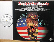 PETER DENNIS BIG BAND BACK TO THE BANDS LP WHITE LABEL