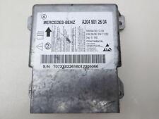 MERCEDES c220 w204 07-11 AIRBAG CENTRALINA Airbag Apparecchio Di Controllo a2049012604