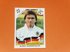 198 AUGENTHALER RFA BRD ITALIA 90 FOOTBALL PANINI WORLD CUP STORY 1990 SONRIC'S