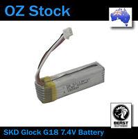 Gel Ball Blaster Internal Replacement 7.4v Battery For Glock G18 SKD
