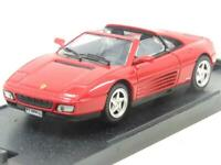 Bang Models Diecast 8001 Ferrari 348 TS Stradale Red 1 43 Scale Boxed