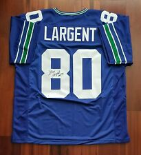 Steve Largent Autographed Signed Jersey Seattle Seahawks JSA