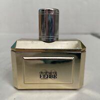 Gianfranco Ferre Eau de Toilette Natural Spray 30ml/1 Fl Oz Gold Bottle Vintage