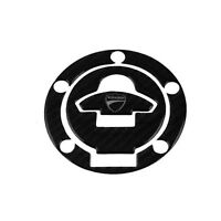 Carbon Fuel Tank Pad Protection Decal Stickers for Ducati 899 1199 1299 Panigale