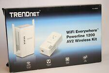 TRENDnet TPL-430APK WiFi Everywhere Powerline 1200 AV2 Wireless Kit