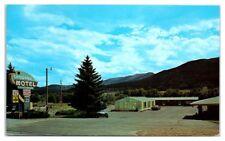 1970s Shawano Motel, Salida, CO Postcard