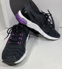 ASICS GEL-Quantum 180 5 Women's 9.5 Black/Purple Athletic Training Shoes X5-1667