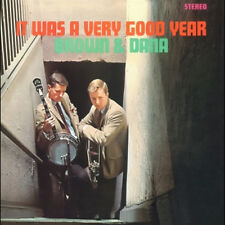 Brown And Dana - It Was A Very Good Year (LP Miniature) Korea Edition Sealed CD