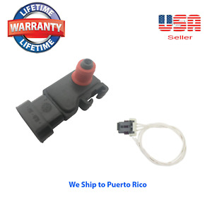 Manifold Absolute Pressure MAP Sensor With Connector Fit GM ACURA (Refer catalog
