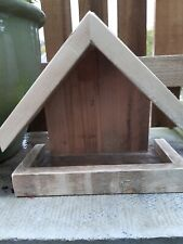 Bird Feeder  Bird Table Wall Or Fence Mounted.