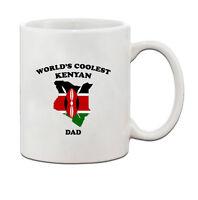 Worlds Coolest KENYAN Dad Ceramic Coffee Tea Mug Cup