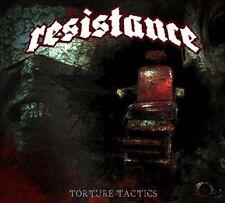 RESISTANCE Torture Tactics (2015) 10-track CD album NEW/SEALED