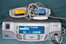 Depuy Mitek VAPR VUE RF Generator Electrosurgical Unit / Handpiece & Footswitch