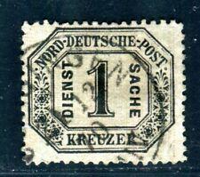 NDP DIENST 1870 6 gestempelt SIGMARINGEN 320€(G0145