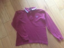 Long sleeved Fred Perry Polo shirt - Ladies Size 10