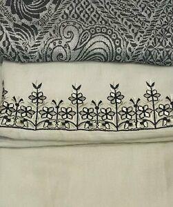 Light Stone 3 piece Marina Winter suit with a khasmiri shawl  SP280-3 midtex