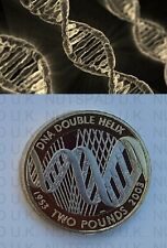 2003 PROOF £2 coin DNA Molecule two pounds Commemorative