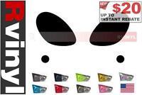 Rtint Headlight Tint Precut Smoked Film Covers for Porsche Cayman 2006-2008