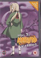 NARUTO UNLEASHED SERIES 7 VOLUME 2 DVD 13 EPISODES MANGA 7.2