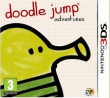 DOODLE JUMP ADVENTURES PER NINTENDO 3DS nuovo.