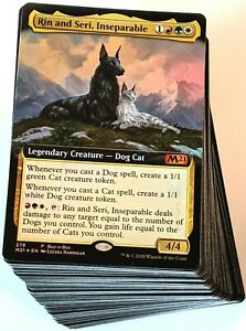 ***Custom Commander Deck*** Rin and Seri - Cats & Dogs Tribal - EDH Magic Cards