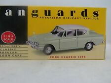 FORD CLASSIC 109E LIME GREEN / WHITE  VANGUARDS Lledo  1:43 scale