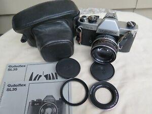 ROLLEI ROLLEIFLEX SL35 35mm film camera GERMANY / ZEISS PLANAR 1.4 /50 lens
