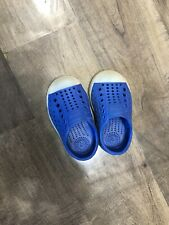 Native Jefferson Toddler Shoes C4 Blue Glow In The Dark