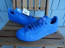 NWT ADIDAS X PHARRELL WILLIAMS STAN SMITH SZ 6 BLUE SOLID PACK B25386 PW 2014 og