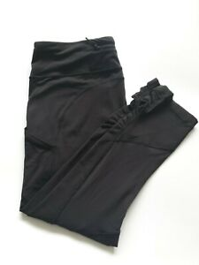 Lululemon Crop Leggings  Size US10 Black