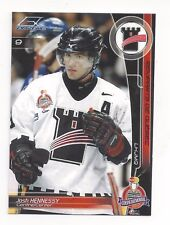 2002-03 Quebec Remparts (QMJHL) Memorial Cup Josh Hennessy (Providence Bruins)