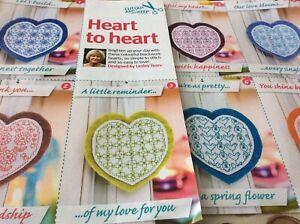 7 Blackwork Heart Lesley Teare Design cross stitch chart only/ 639