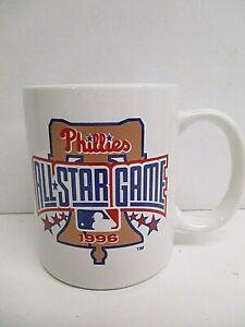 1996 Phillies All Star Game Ceramic Coffee Mug