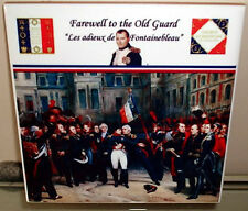 Napoleonic Wars Napoleon ~Farewell to the Old Guard~ Fontainebleau CERAMIC TILE