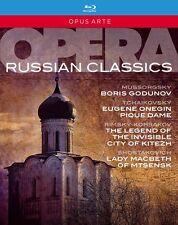 OPERA RUSSIAN CLASSICS - BOX 6 BLURAY in Russo NEW .cp.