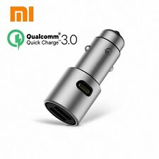 Original Xiaomi QC3.0 car charger 5V/3A dual USB Quick charger 9V/2A 12V/1.5 A